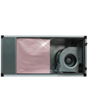 Filterkast F7 met motor 6000 m3/h